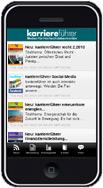 karriereführer Smartphone-App für iOS