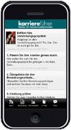 karriereführer Smartphone-App für Android