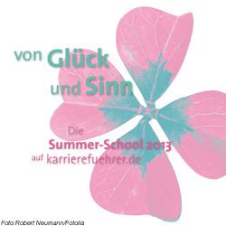Glücks-Sommer bei karriereführer; Foto:Robert Neumann/Fotolia
