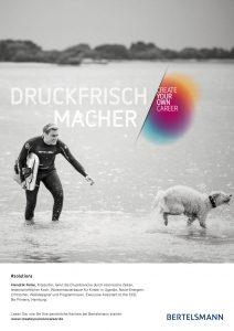 Druckfrischmacher - Create Your Own Career, Bild: Bertelsmann