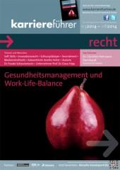 Cover karriereführer recht 1.2014