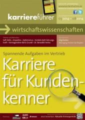 Cover karriereführer wirtschaftswissenschaften 1.2014