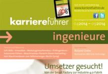 Cover karriereführer ingenieure Ausgabe 1.2014