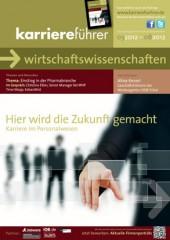 Cover karriereführer wirtschaftswissenschaften 1.2012