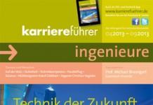 Cover karriereführer ingenieure Ausgabe 1.2013