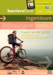 Cover karriereführer ingenieure Ausgabe 2.2013