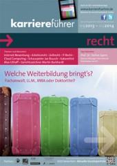 Cover karriereführer recht 2.2013