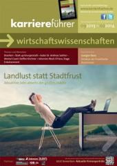Cover karriereführer wirtschaftswissenschaften 2.2013