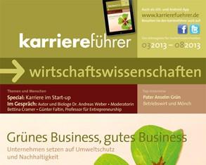Cover karriereführer wirtschaftswissenschaften 1.2013