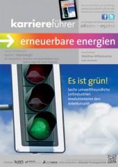Cover karriereführer erneuerbare energien 2011.2012