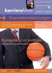 Cover karriereführer finanzdienstleistungen 2011.2012