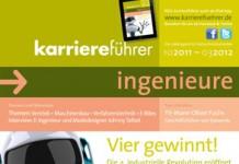 Cover karriereführer ingenieure Ausgabe 2.2011