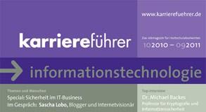 Cover karriereführer informationstechnologie 2010.2011
