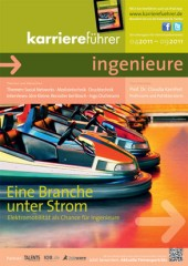 Cover karriereführer ingenieure Ausgabe 1.2011