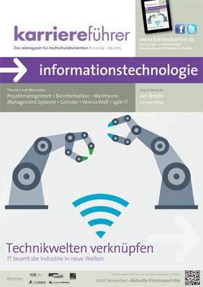 Cover karriereführer informationstechnologie 2014.2015