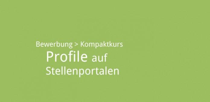 Profile auf Stellenportalen. Bild: karriereführer