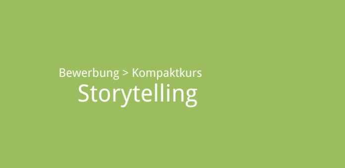 Storytelling. Bild: karriereführer