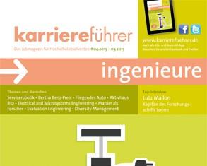 Cover karriereführer ingenieure 1.2015