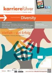 Cover karriereführer hochschulen 1.2015 Sonderthema Diversity/Vielfalt