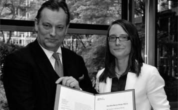 Der Bertha Benz-Preis, Foto: Daimler und Benz Stiftung/Dorn