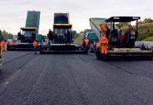 Die Baustelle zeigt die A6, auf der Alexandra Hollatz zurzeit arbeitet. Foto: Strabag