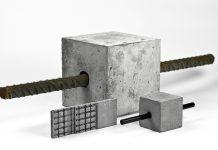 Demonstratoren: Vergleich Stahl- und Carbonstab sowie Textilbeton, Foto: filmaton: filmaton