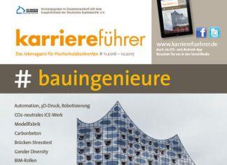 Cover karriereführer bauingenieure 2016.2017