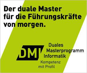 DMI Duales Masterprogramm Informatik