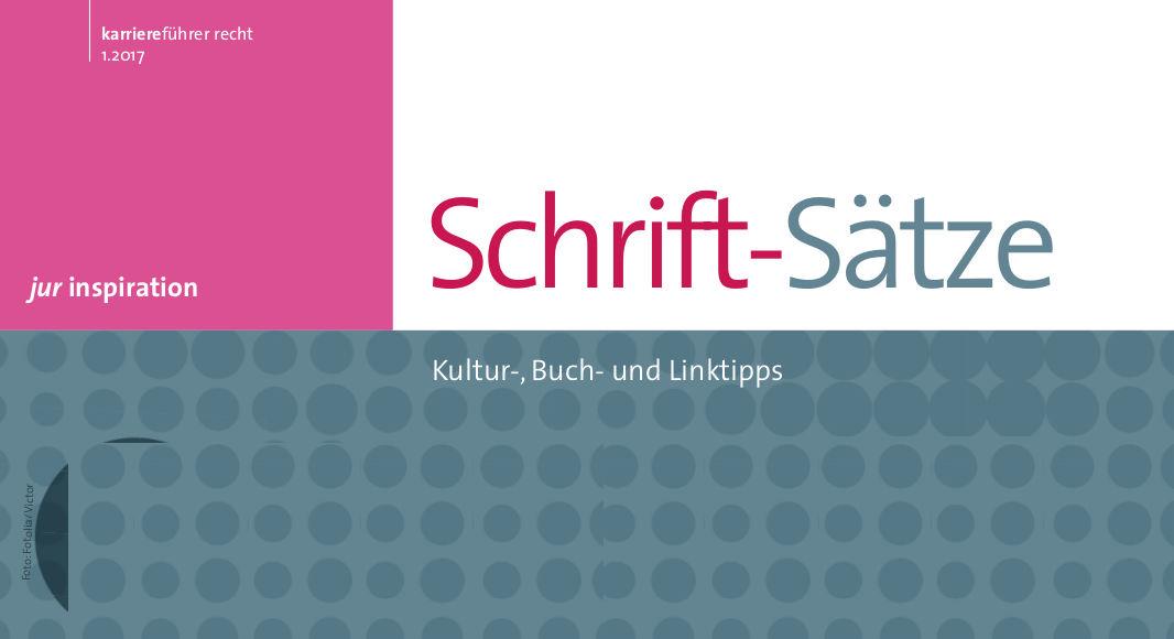 Kultur-, Buch- und Linktipps, Grafik: karriereführer