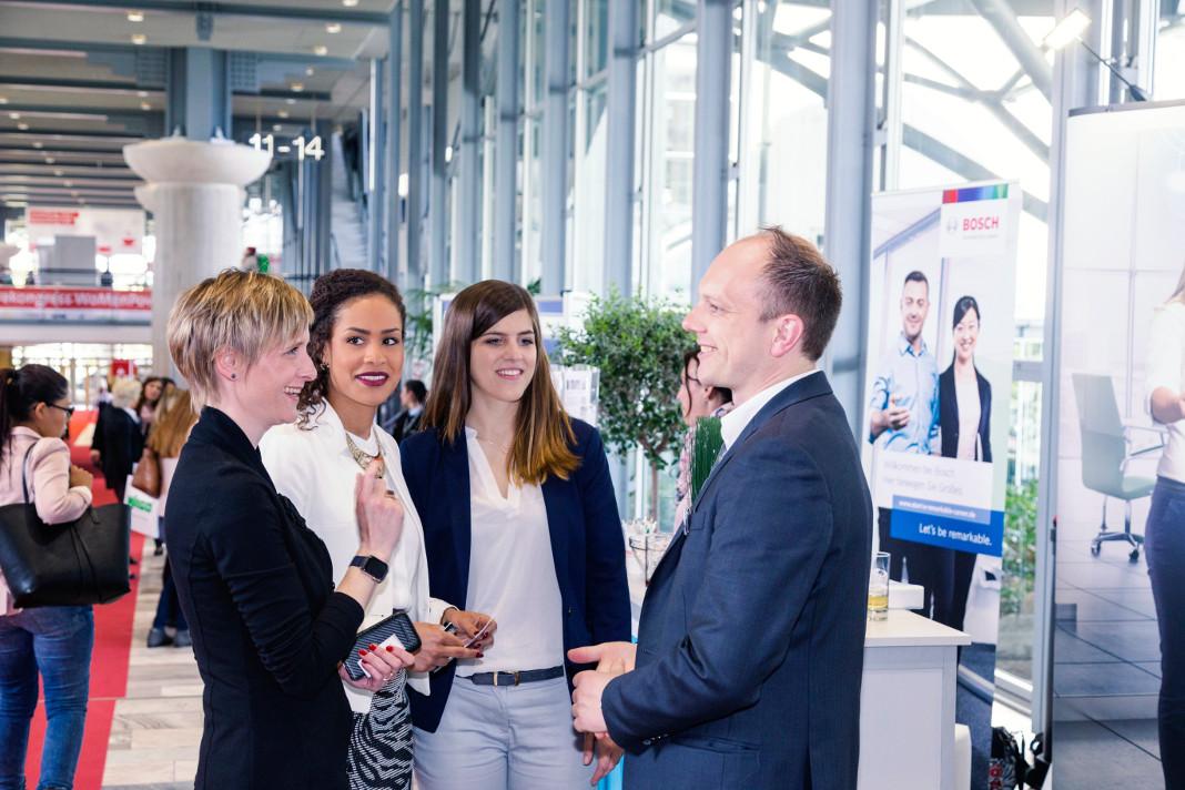 WoMenPower Ausstellung, Foto: Deutsche Messe