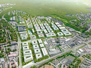 Digitalisierung beginnt auf dem Siemens Campus bereits mit der virtuellen Planungsmethode Building Information Modelling (BIM). Foto: Siemens-AG