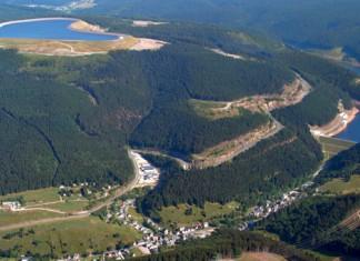 Pumpspeicherkraftwerk Goldisthal, eins von Deutschlands größten Kraftwerken dieser Art, Foto: Vattenfall/Thomas Schubert