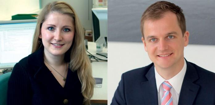 Anja Arnet und Sebastian Birzer, Fotos: Brunel GmbH