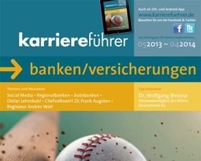 Cover karriereführer banken/versicherungen 2013.2014
