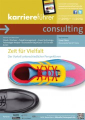 Cover karriereführer consulting 2013.2014