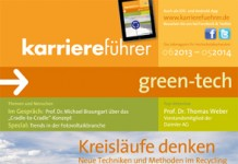 Cover karriereführer green-tech 2013.2014