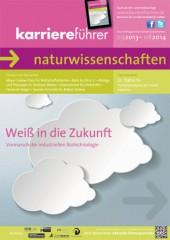Cover karriereführer naturwissenschaften 2013.2014