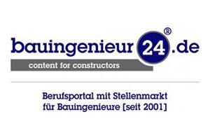Logo bauingenieur24.de