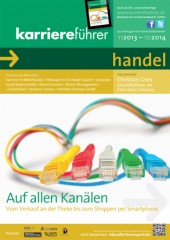 Cover karriereführer handel 2013.2014