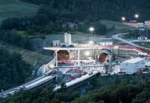 Baustelle des Sparvo-Straßentunnels; Foto: www.herrenknecht.com