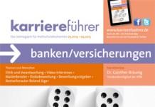 Cover karriereführer banken/versicherungen 2014.2015