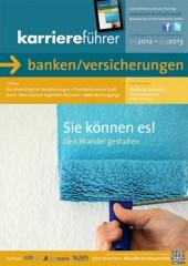 Cover karriereführer banken/versicherungen 2012.2013