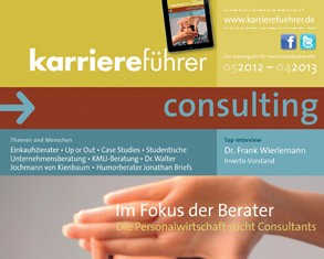 Cover karriereführer consulting 2012.2013