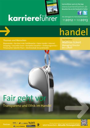 Cover karriereführer handel 2012.2013
