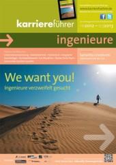 Cover karriereführer ingenieure Ausgabe 2.2012