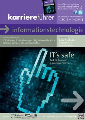 Cover karriereführer informationstechnologie 2012.2013