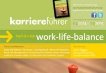 Cover karriereführer hochschulen 1.2014 work-life-balance