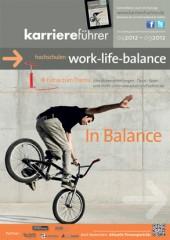 Cover karriereführer hochschulen 1.2012 work-life-balance