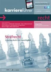Cover karriereführer recht 2.2012
