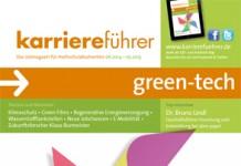 Cover karriereführer green-tech 2014.2015